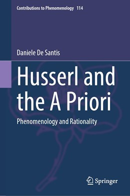 Abbildung von De Santis   Husserl and the A Priori   1. Auflage   2021   114   beck-shop.de