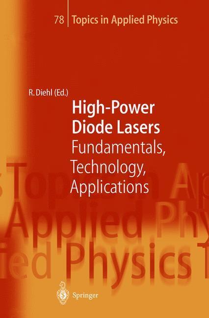 Abbildung von Diehl | High-Power Diode Lasers | 2000