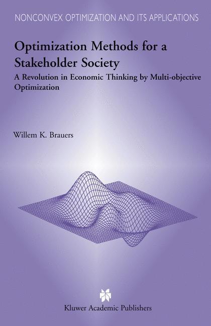 Abbildung von Brauers | Optimization Methods for a Stakeholder Society | 2003