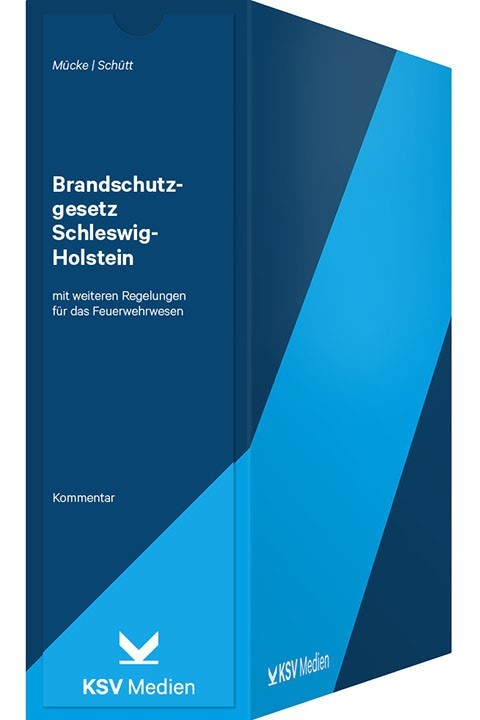 Abbildung von Mücke | Brandschutzgesetz Schleswig-Holstein | Loseblattwerk mit 20. Aktualisierung | 2018