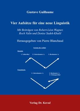 Abbildung von Guillaume / Blanchaud | Vier Aufsätze für eine neue Linguistik | 2006 | Mit Beiträgen von Robert-Léon ... | 84