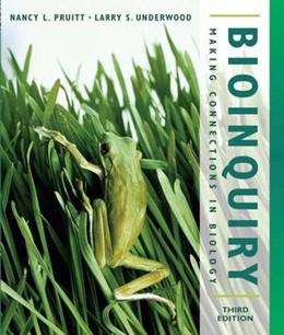 Abbildung von Pruitt / Underwood | BioInquiry | 3. Auflage | 2005 | Making Connections in Biology