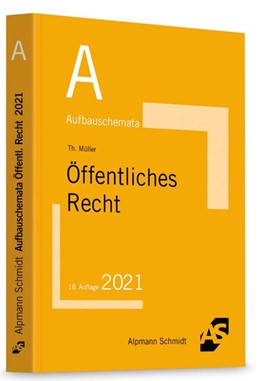 Abbildung von Müller   Aufbauschemata Öffentliches Recht   18. Auflage   2021   beck-shop.de
