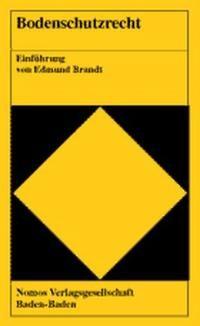 Bodenschutzrecht | Brandt, 2000 | Buch (Cover)
