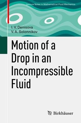Abbildung von Denisova / Solonnikov | Motion of a Drop in an Incompressible Fluid | 1. Auflage | 2021 | beck-shop.de