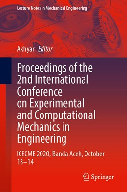 Abbildung von Akhyar | Proceedings of the 2nd International Conference on Experimental and Computational Mechanics in Engineering | 1. Auflage | 2021 | beck-shop.de