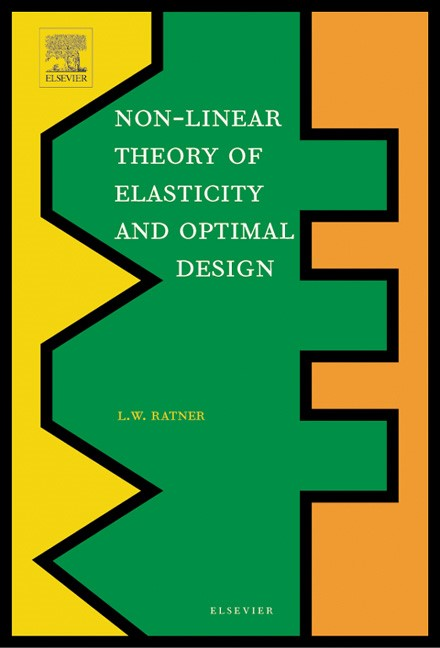 Abbildung von Ratner | Non-Linear Theory of Elasticity and Optimal Design | 2003