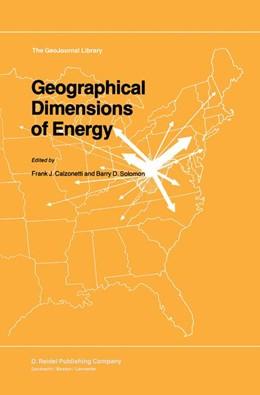 Abbildung von Calzonetti / Solomon   Geographical Dimensions of Energy   1985   5