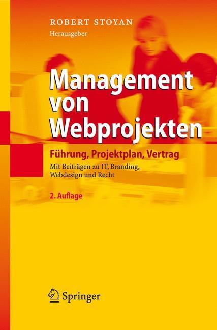 Abbildung von Stoyan | Management von Webprojekten | 2007