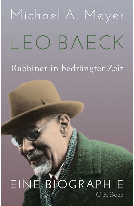 Cover: Michael A. Meyer, Leo Baeck