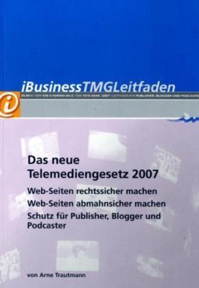 Abbildung von Trautmann | iBusiness TMGLeitfaden | 2007