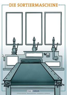 Abbildung von Sortiermaschine - Plakat DIN A1. Klasse 5-10 | 1. Auflage | 2021 | beck-shop.de