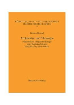 Abbildung von Konrad   Architektur und Theologie   2007   Pharaonische Tempelterminologi...
