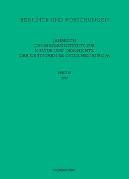 Abbildung von Berichte und Forschungen | 2003 | Jahrbuch des Bundesinstituts f...