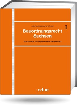 Abbildung von Jäde + / Dirnberger | Bauordnungsrecht Sachsen - mit Aktualisierungsservice | 1. Auflage | 2020 | beck-shop.de