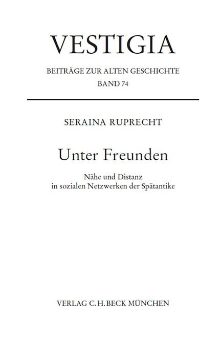 Cover: Seraina Ruprecht, Unter Freunden