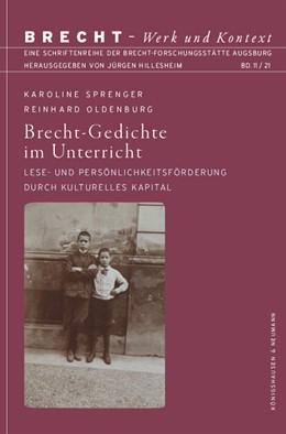 Abbildung von Sprenger / Oldenburg | Brecht-Gedichte im Unterricht | 1. Auflage | 2021 | 11 | beck-shop.de