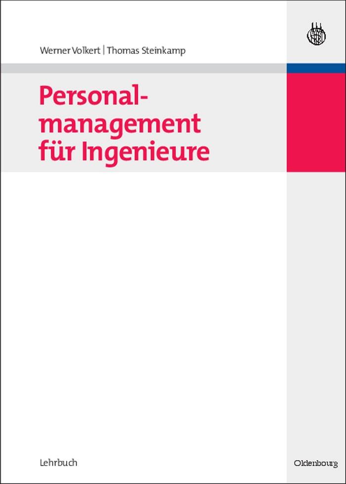 Abbildung von Volkert / Steinkamp | Personalmanagement für Ingenieure | 2008