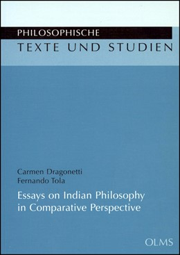 Abbildung von Tola / Dragonetti   Essays on Indian Philosophy in Comparative Perspective   2009   101