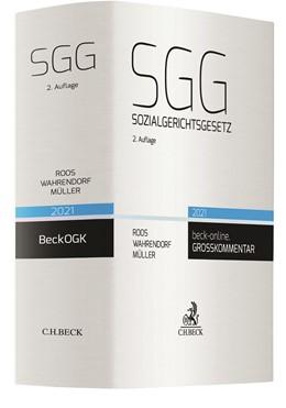 Abbildung von Roos / Wahrendorf   Sozialgerichtsgesetz: SGG   2. Auflage   2021   beck-shop.de