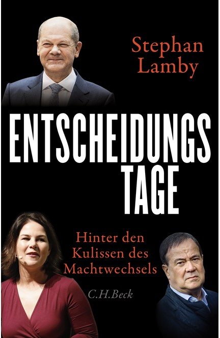 Cover: Stephan Lamby, Entscheidungstage