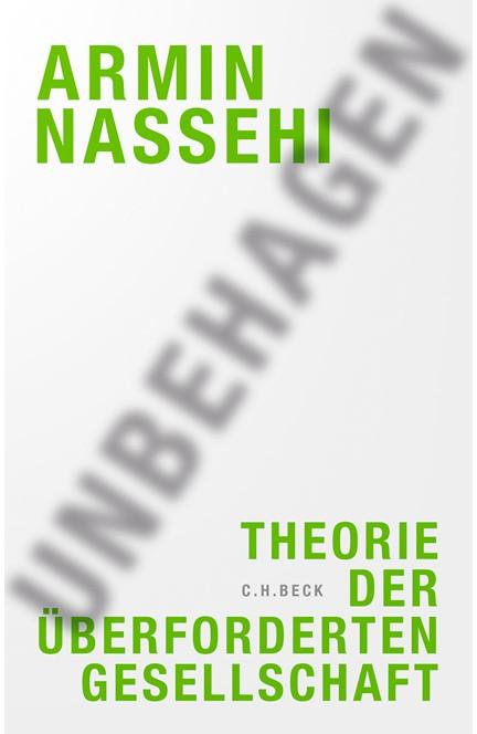 Cover: Armin Nassehi, Unbehagen