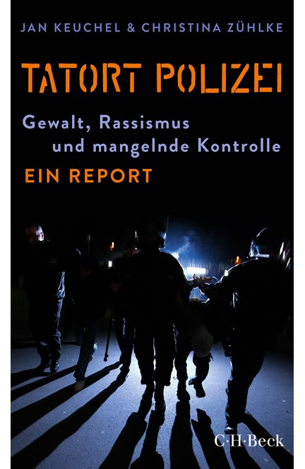 Cover: Christina Zühlke|Jan Keuchel, Tatort Polizei