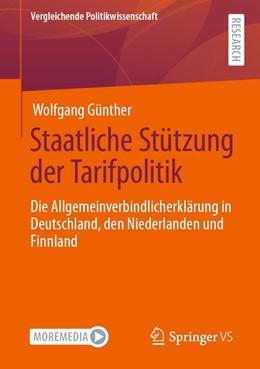 Abbildung von Günther   Staatliche Stützung der Tarifpolitik   1. Auflage   2021   beck-shop.de