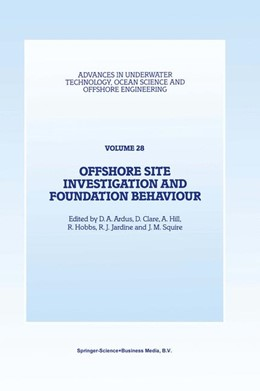 Abbildung von Ardus / Clare / Hill / Hobbs / Jardine / Squire | Offshore Site Investigation and Foundation Behaviour | 1993 | Papers presented at a conferen... | 28
