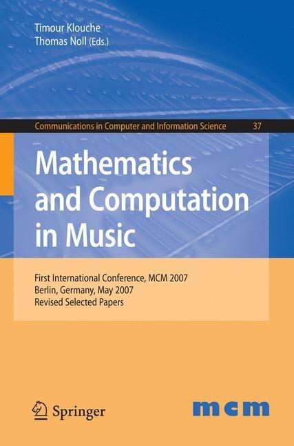 Abbildung von Klouche / Noll | Mathematics and Computation in Music | 2009