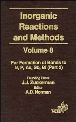 Abbildung von Zuckerman / Hagen | Inorganic Reactions and Methods | 1994 | Volume 8: Formations of Bonds ... | 8