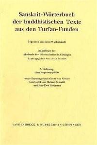 Abbildung von Bechert | Sanskrit-Wörterbuch der buddhistischen Texte aus den Turfan-Funden. Lieferung 5 | 1987