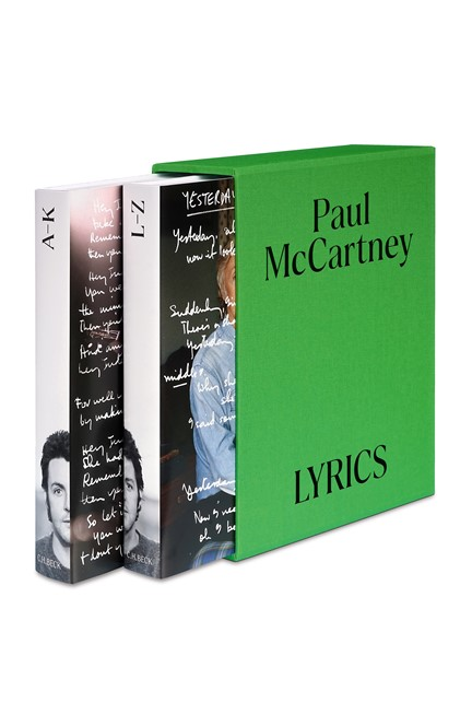 Cover: Paul McCartney, Lyrics Deutsche Ausgabe