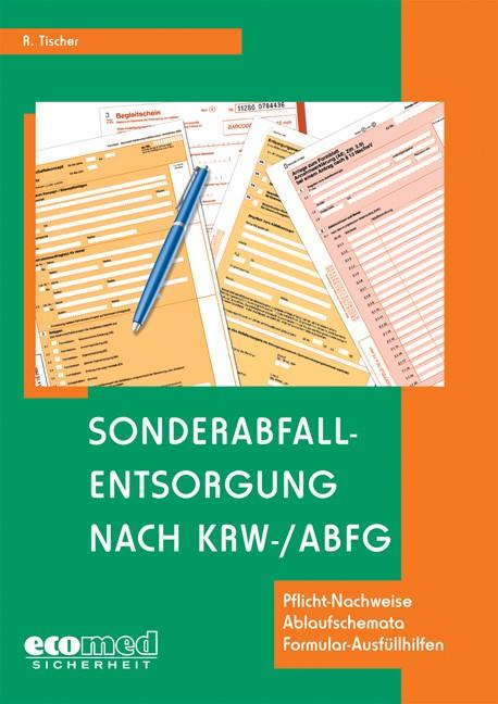 Abbildung von Tischer | Sonderabfallentsorgung nach KrW-/AbfG | 2003