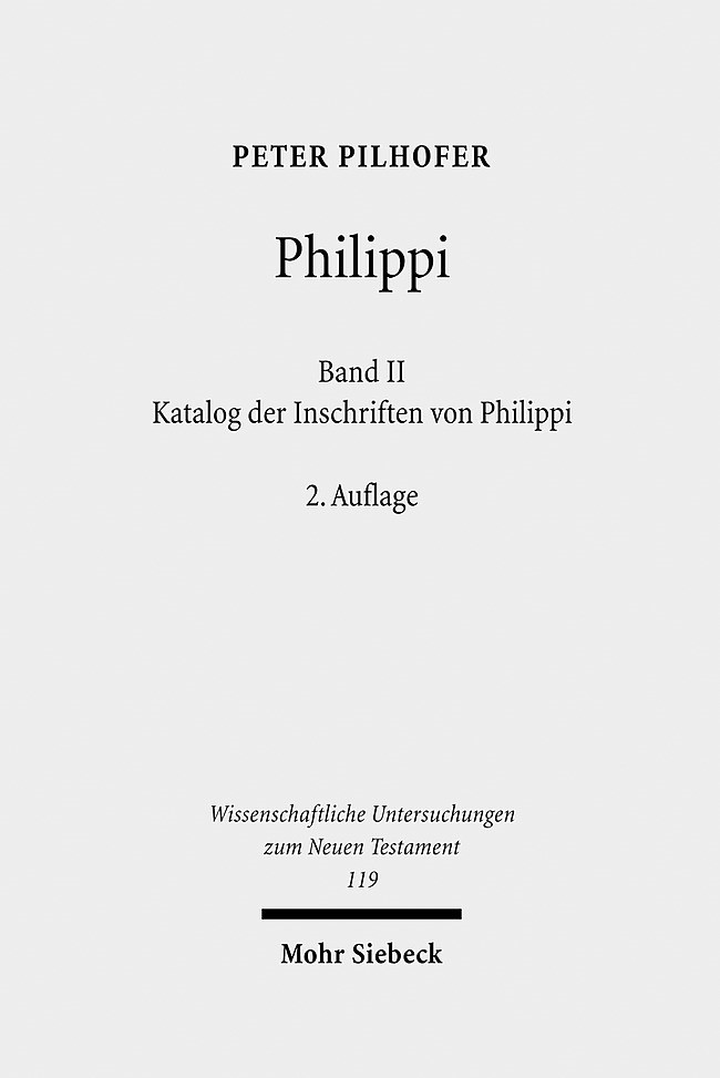 Abbildung von Pilhofer | Philippi | 2., überarb. u. erg. A. | 2009