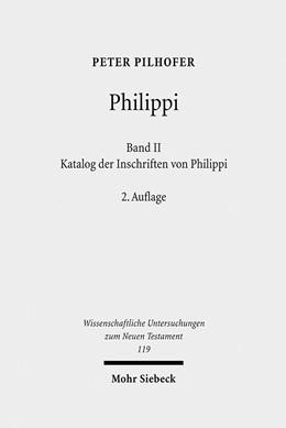 Abbildung von Pilhofer | Philippi | 2., überarb. u. erg. A. | 2009 | Band 2: Katalog der Inschrifte... | 119