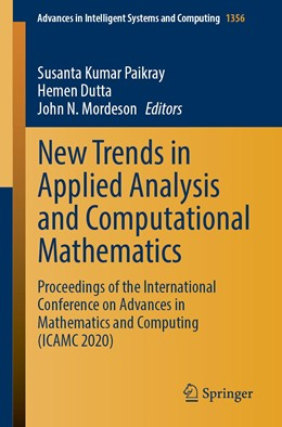 Abbildung von Paikray / Dutta | New Trends in Applied Analysis and Computational Mathematics | 1. Auflage | 2021 | 1356 | beck-shop.de