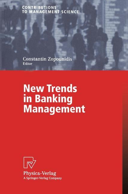 Abbildung von Zopounidis | New Trends in Banking Management | 2002