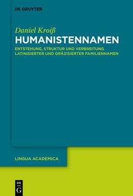 Abbildung von Kroiß   Humanistennamen   1. Auflage   2021   beck-shop.de