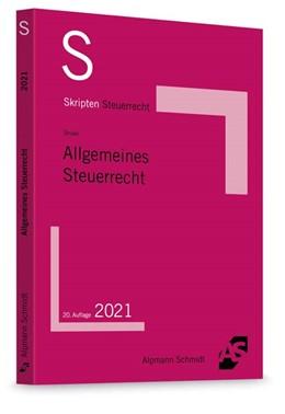 Abbildung von Drüen | Skript Allgemeines Steuerrecht | 20. Auflage | 2021 | beck-shop.de