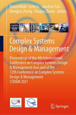 Abbildung von Krob / Li | Complex Systems Design & Management | 1. Auflage | 2021 | beck-shop.de