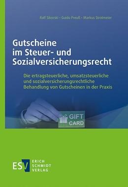 Abbildung von Sikorski / Preuß   Gutscheine im Steuer- und Sozialversicherungsrecht   1. Auflage   2021   beck-shop.de