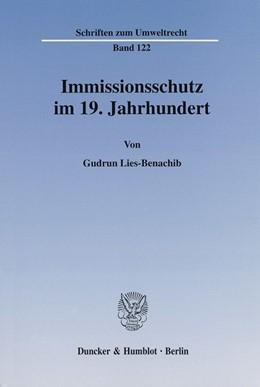 Abbildung von Lies-Benachib | Immissionsschutz im 19. Jahrhundert. | 2002