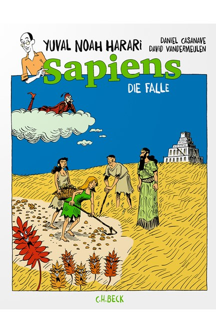 Cover: Yuval Noah Harari, Sapiens