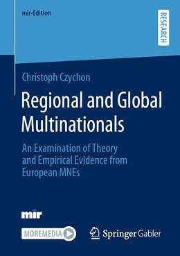 Abbildung von Czychon | Regional and Global Multinationals | 1. Auflage | 2021 | beck-shop.de