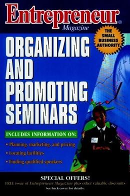 Abbildung von Entrepreneur Magazine: Organizing and Promoting Seminars | 1997