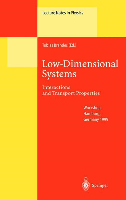 Low-Dimensional Systems | Brandes, 2000 | Buch (Cover)