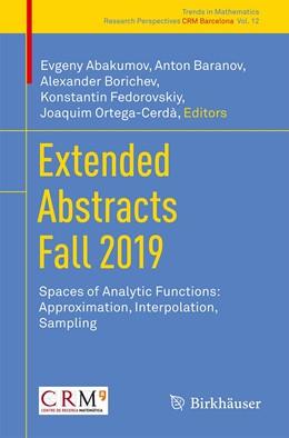 Abbildung von Abakumov / Baranov | Extended Abstracts Fall 2019 | 1. Auflage | 2021 | 12 | beck-shop.de