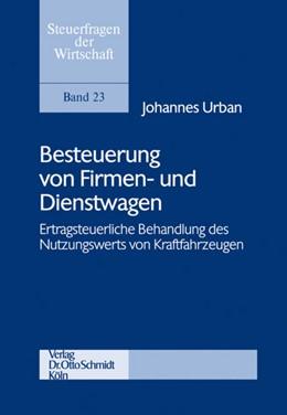 Abbildung von Urban | Besteuerung von Firmen- und Dienstwagen | 1. Auflage | 2009 | 23 | beck-shop.de