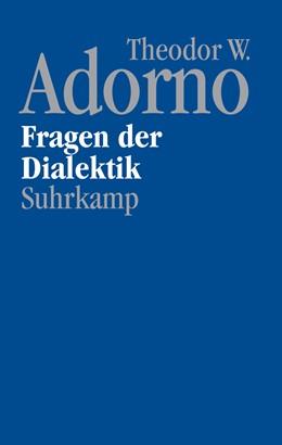 Abbildung von Adorno / Theodor W. Adorno Archiv | Nachgelassene Schriften. Abteilung IV: Vorlesungen | 1. Auflage | 2021 | beck-shop.de
